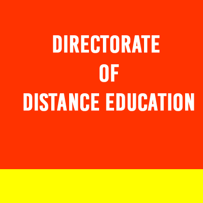 Faculty of Distance Education