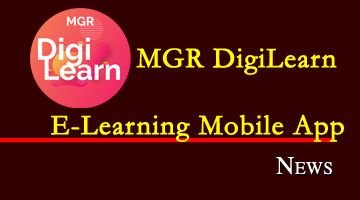 Dr.M.G.R Digital Learning E-Resources