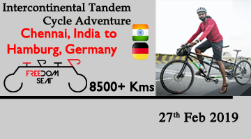 Intercontinental Tandem Cycle Adventure