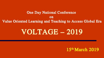 One Day National Conference VOLTAGE – 2019