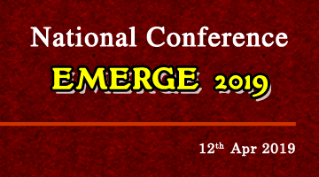 National Conference- EMERGE 2019