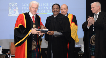 Honorary fellowship by RCPS