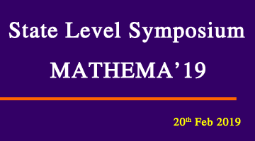 State Level Symposium Mathema