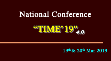 National Conference TIME'19 4.0
