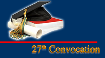 27th Convocation