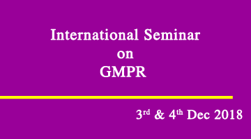 International Seminar on GMPR