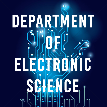 Department of Electronic Science